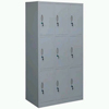 Steel Plastic-spray 9-Door Change Cabinet