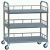 Stainless Steel Three-layer Instrument Trolley