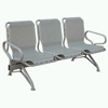 Steel Tube Plastic-spray Waiting Chair