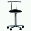 Nursing Round Stool with Truckles