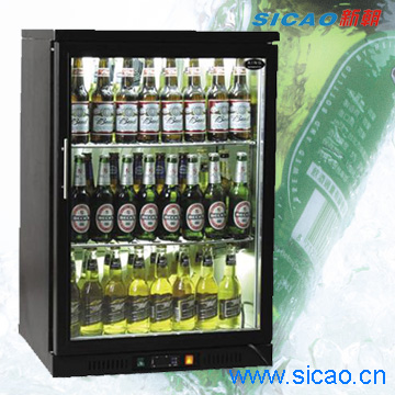 SICAO- Beer cooler,beverage showcase,can cooler,mini fridge,display cellar,cabinet cooler, SC-98F
