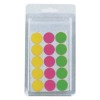 roundness colourful LABEL Adhesive sticker