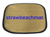 Straw Cushion, Leisure Mat, Promotion Beach Mat
