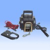 Boat trailer winch