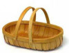 wood basket, bamboo basket, rattan basket, chipwood basket