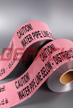 Underground Detectable Caution Tape 150mmx365M