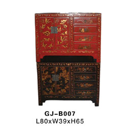 Antique Reproduction Small Cabinet