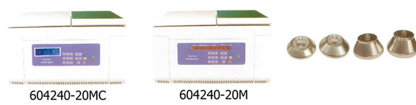 Table-top high speed refrigerated centrifuge