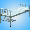 Single shake bed with stainless steel bedside