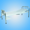 Single shake bed with stainless steel bedside and steel plate surface