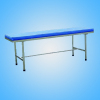 All stainless steel examination bed