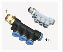 PKB plastic Fitting one touch fitting joint air coupler