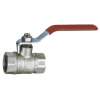 Full-flow ball valve