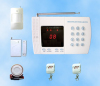 Learning code 8 wireless zones home alarm system china factory in shenzhen