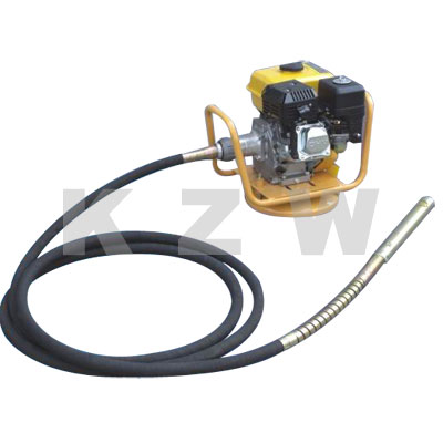 Gasoline engine concrete vibrator