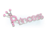 Princess pink pin