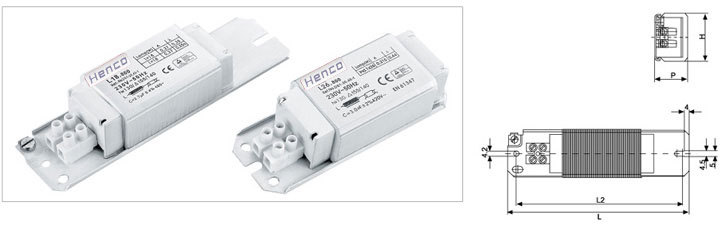 Electromagnetic Ballast for Fluorescent Lamps
