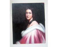 Noble Lady Oil Painting