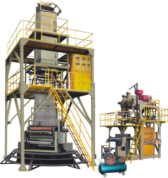 POF 3-Layer Co-extrusion polyolefin Hot-shrinkable film Production Line