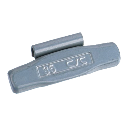 Steel clip-on  Wheel Weight