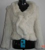 Rabbit Fur Knnitted Jacket