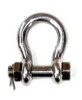 Bolt Anchor Shackle W Safety Pin Nut - Stainless