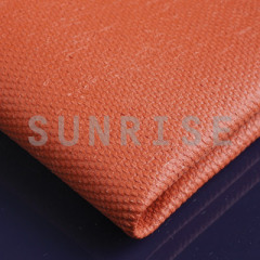 red silicone Coated Fabric