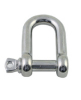 Stainless Steel Screw Pin Chain Shackle U.S.Type