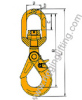 Swivel Safety Hook with Bearing