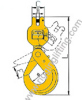 Clevis Swivel Self-Locking Hook
