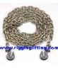 Transport Chain with Grab Hook Both End 3/8""