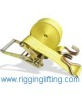 Ratchet Tie Down Buckle Tensioning Instruction