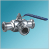 Sanitary Three Way Ball Valve