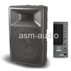 Active Plastic Molded PA Speaker Cabinet