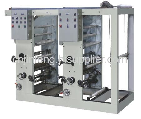 Two color Line connecting Rotogravure Printing Machine