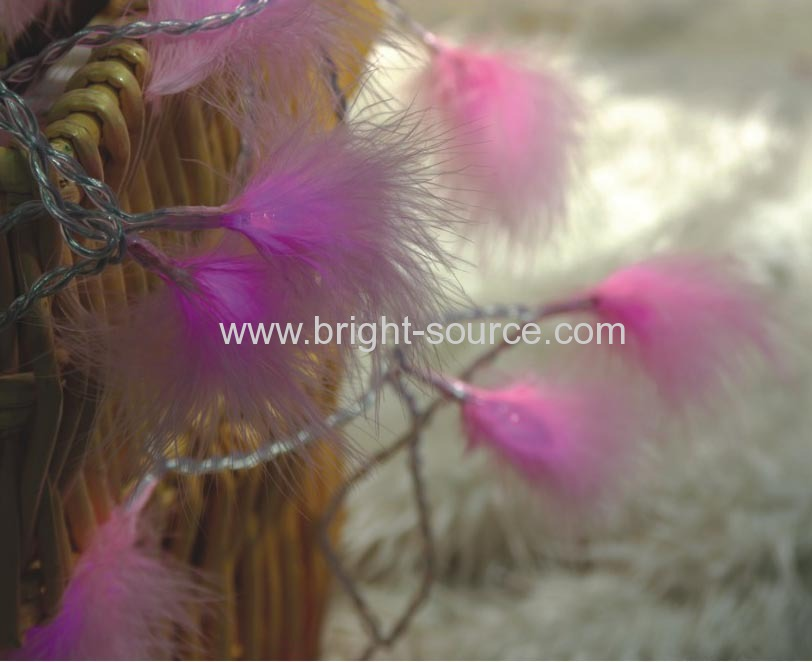 20L LED FEATHER LIGHT