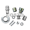 Polished machining hardware part with high quality