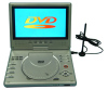 "9""180 Rotatable/DVB-T/GAME/Card  Reader /USB Portable DVD Player"