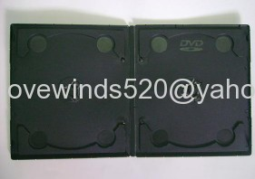7mm Mini Double Black DVD Case