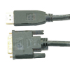 DisplayPort  to DVI Plug Cable