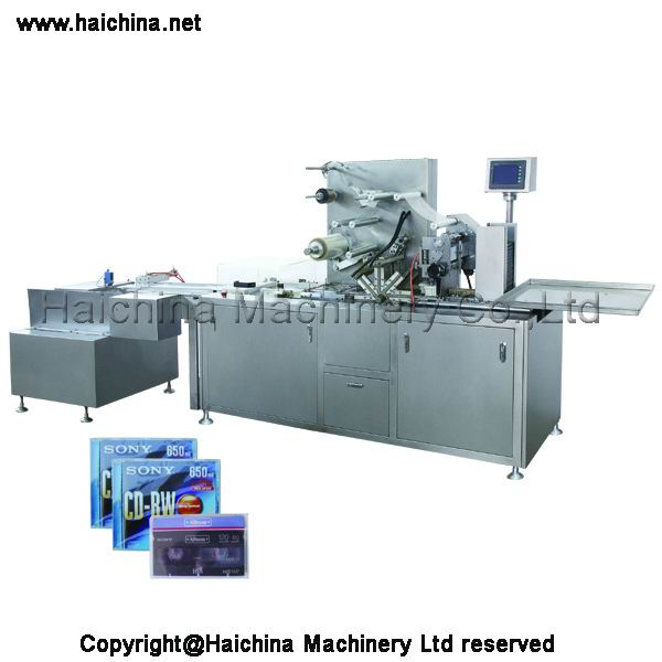 Automatic Tridimensional Cellophane Packaging Machine