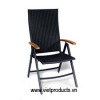 Poly Rattan Folding Chair