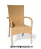 Poly Rattan Stackable Chair