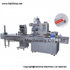 Pillow Packing Machine (leaflets folding and adding device)