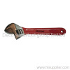 Red Grip Adjustable Wrench