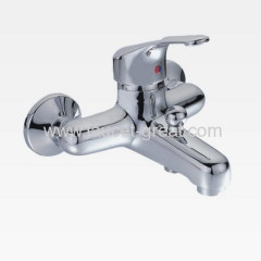 Single Handle Wall Mount Bath Faucet With H58 Brass Body
