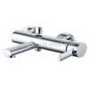 Wall mounted single lever bath mixers