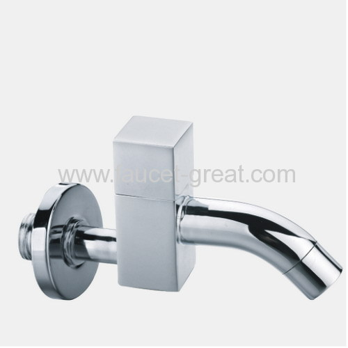 Square Design Brass Single water tap