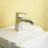 SIngle handle deck mounted bidet mixer