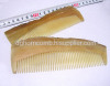 Straight Yellow Cattle Horn Comb